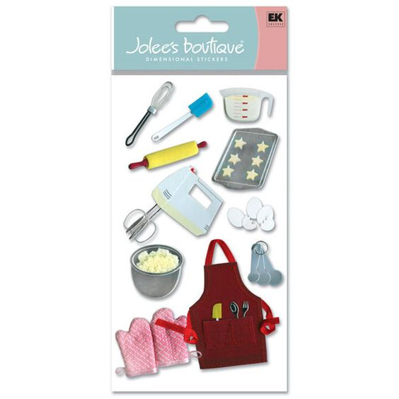 Jolee's Boutique® | Baking Stickers  $5.49