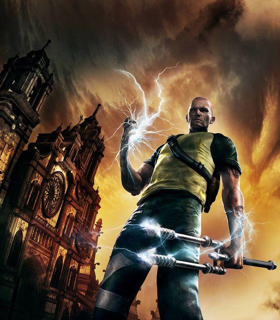 Cole MacGrath - Characters & Art - inFamous 2 | Shadowrun ...