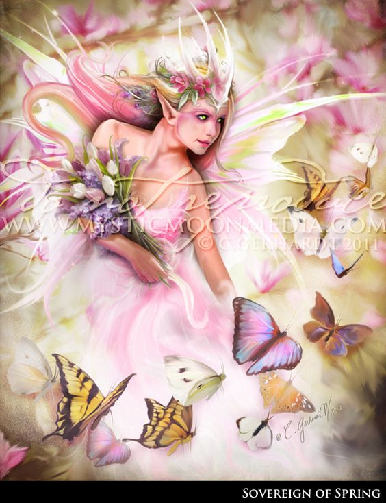 Sovereign of Spring by MysticMoonMedia.deviantart.com on @DeviantArt
