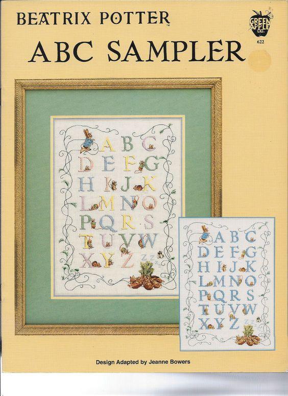 Vintage: Beatrix Potter Adaptations by J Bowers & J Powers- Cross Stitch Charts