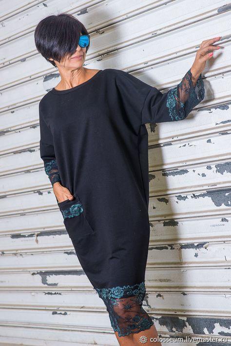 Платье из хлопочная ткань с кружевом – купить в интернет-магазине на Ярмарке Мастеров с доставкой - FLZ19RU | Бургас
