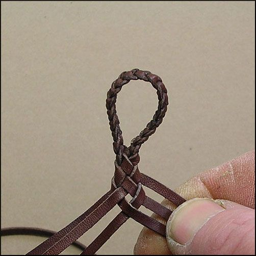 6 Strands : Leather Braiding by John