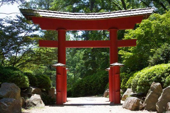 Japan area entrance
