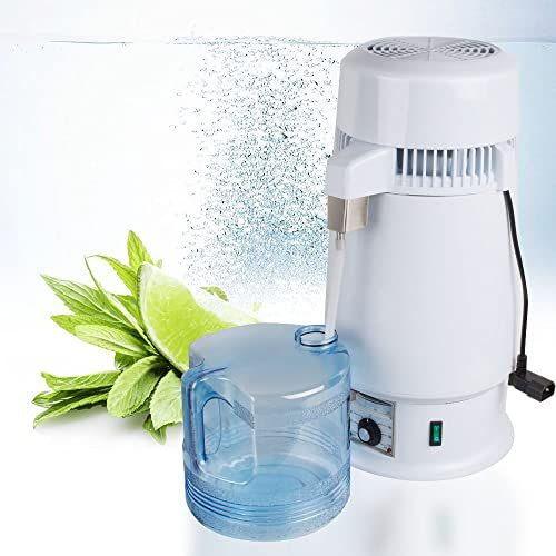Buy Denshine Water Purifier Countertop Water Distiller 1gal Pure Water Distiller Distilled Water Machine 750w Pure Water Maker Online In 2020 Pure Water Still Spirits Moonshine Alcohol
