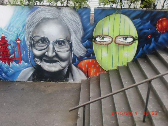 grafite de rua curitiba pr