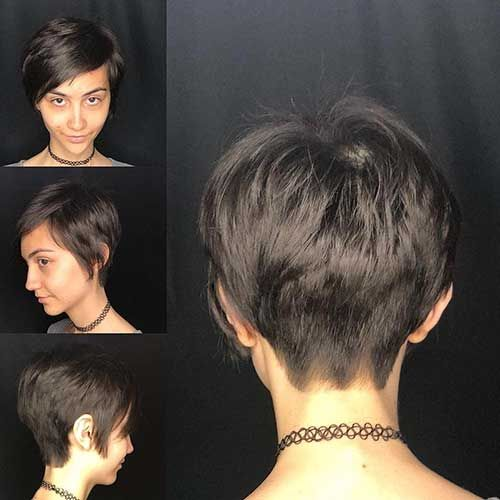 45 Beste Kurzhaar Ruckansicht 2019 Pixie Haircut Wavy Pixie Haircut Cool Short Hairstyles
