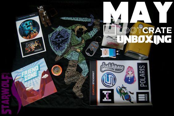 LootCrate Unboxing (Legend of AdventureCraft) May 2014