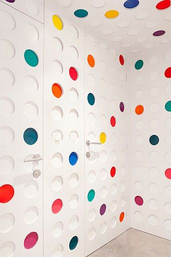A Pantone Hotel For The Color Obsessed Hotels Design Pantone Dots