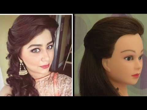 Easy Side Puff Hairstyle Inspired By Aditi Bhatiya Everyday Hairstyle For Girls Youtube Everyday Hairstyles Hair Puff Girl Hairstyles