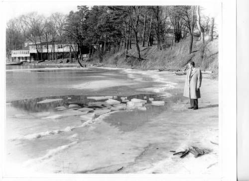 This photo was taken later, possibly in the late 30's and shows the Zoar Dance Hall pavilion. More #paranormal information about this location can be found at: http://www.panicd.com/location.php?ln=1245