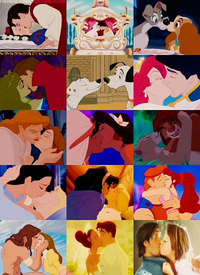 It's all about the kiss...