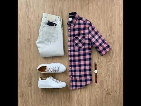تنسيق قميص كاروهات للرجال Youtube Stylish Mens Outfits Mens Outfits Gq Style