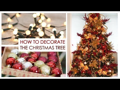How To Decorating My Christmas Tree Tutorial Shonagh Scott Youtube Christmas Tree Decorations Diy Wall Christmas Tree Diy Holiday Decor
