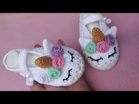Unicorn crochet amigurumi - Step by Step - YouTube | 360x480