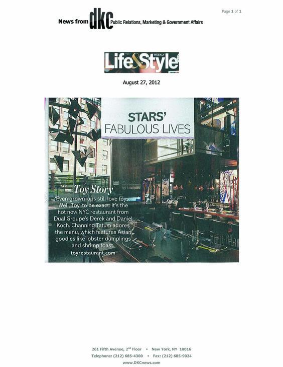 Life & Style 8.27.2012