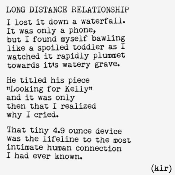 Long Distance Relationship #poem #poetry
