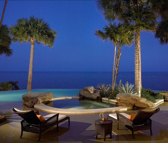 Pool Ideas. This is my dream pool with ocean views! #Pool