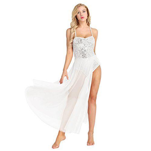 Alvivi Womens Sheer Mesh Short Sleeve Open Bust Belly Dance Crop Top Dancewear