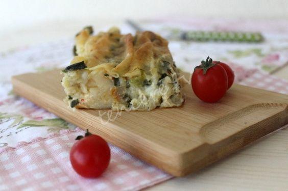 Ispanaklı Peynirli Pileli Börek Tarifi - Börekler - Çörekler
