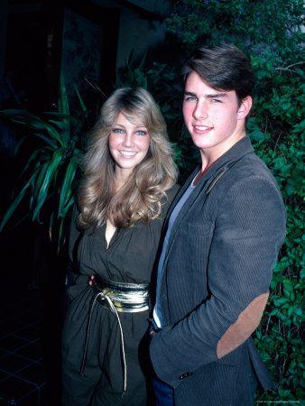 Actors Tom Cruise and Heather Locklear Premium Photographic Print