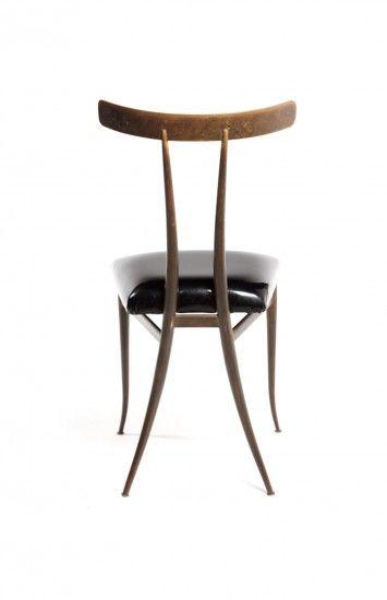 The Klismos Chair, (modern version)