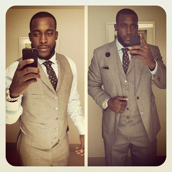 Kam Chancellor. Oh my goodness, love this man.