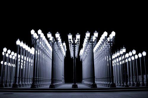 Urban Light Sculpture  @ LACMA