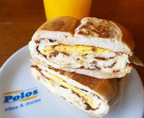 Queijo quente com Ovo #lanchePOLOS (em Polos Pães e Doces)
