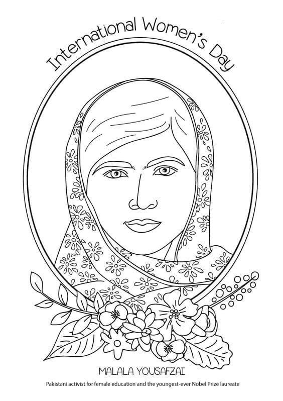 15 Free Printable International Women S Day Coloring Pages Coloring Pages International Womens Day International Women S Day