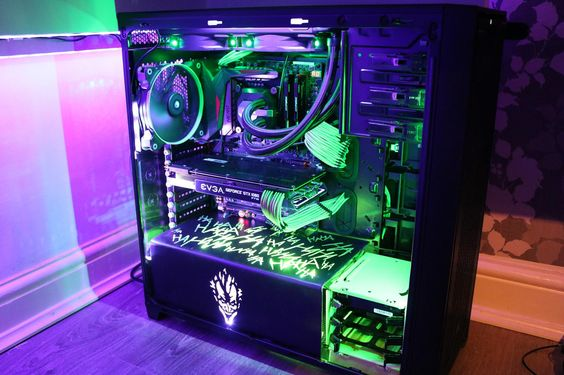 DeadPuppet's Completed Build - Core i7-6700K 4.0GHz Quad-Core, GeForce GTX 1080 8GB FTW Gaming ACX 3.0, 750D Airflow Edition ATX Full Tower - PCPartPicker
