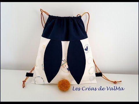 Sac A Dos Lapin Pour Enfants Tuto Couture Valma Youtube Tuto Couture Sac A Dos Tuto Couture Couture Pour Bebe