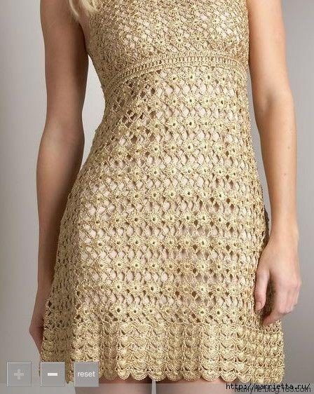 Летнее платье крючком. Схемы (8) (448x562, 233Kb)