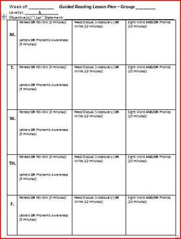 close reading planning template - guided reading ks2 lesson plans guided reading planning
