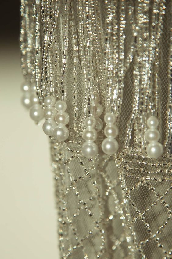 "lacarolita: ""Beads and Pearls """
