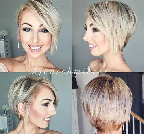 Great Short Hair Ideas For Thin Hair Types Hairstyle Fix Hairstyles For Thin Hair Hair Styles Short Hair With Layers