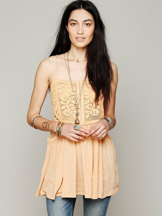 Free People FP X Greenhouse Rose Cami, 88.00