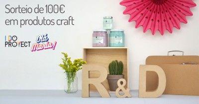 Ganhar 100€ em produtos crafts Olá Maria
