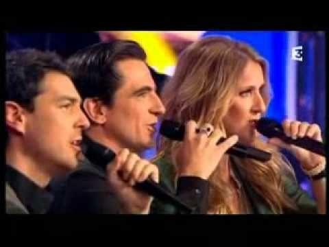 Les Stentors Interpretent Petit Papa Noel Youtube Celine Dion Talk Show Talk