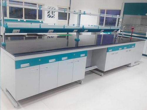 We Offers Laboratory Tables Like Anti Vibration Tables Island Benches Corner Table Working Table And More In Ahmedabad Island Bench Bench Laboratory Design