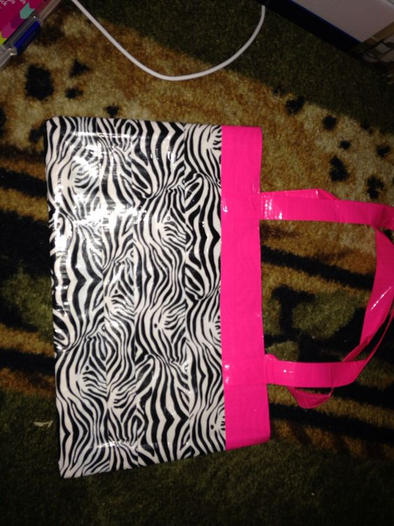 Zebra and hot pink bag/purse