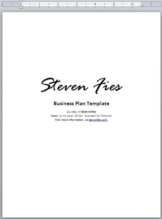 Business Plan Cover Page Template Unique 24 Hour Business Plan Template Validate Plan Business Plan Template Cover Page Template Business Plan Template Free Business plan cover page template