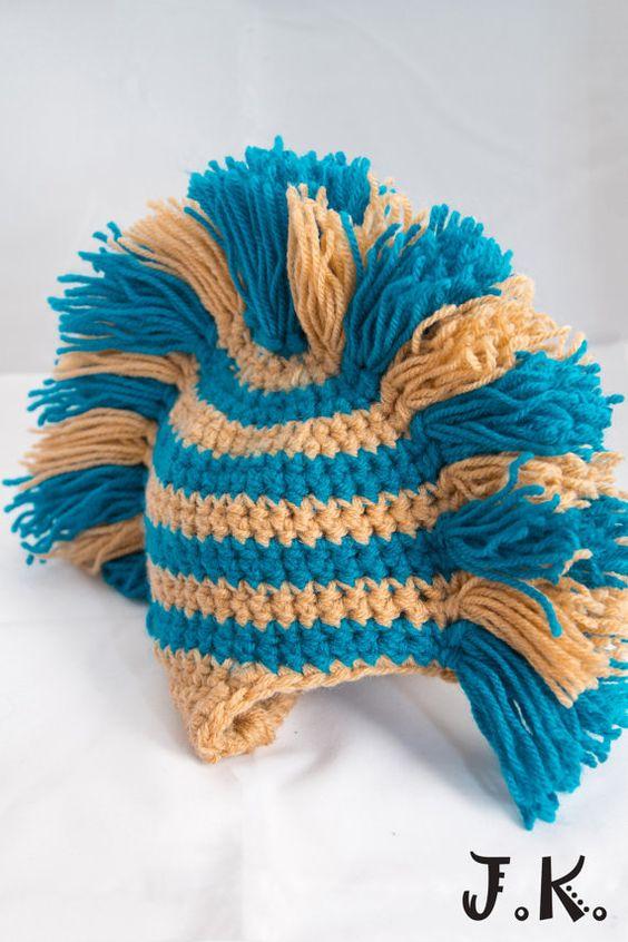 Free Crochet Pattern Baby Mohawk Hat Dancox For