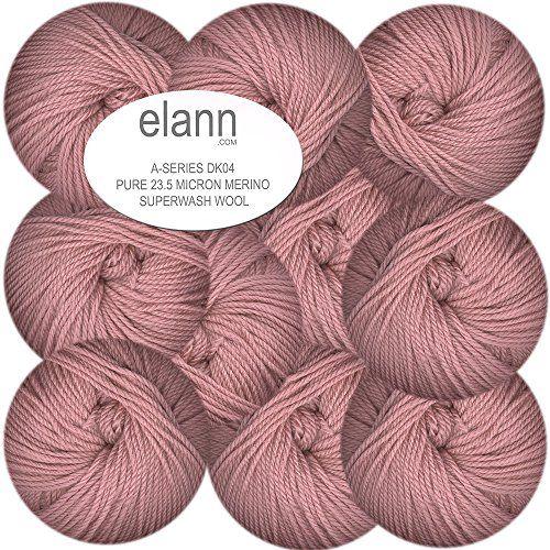 elann DK04 Pure Merino Superwash Wool Yarn | 10 Ball Bag | Moon Rose Elann http://www.amazon.com/dp/B00L4HJKFE/ref=cm_sw_r_pi_dp_xX3-tb0EH3T5X
