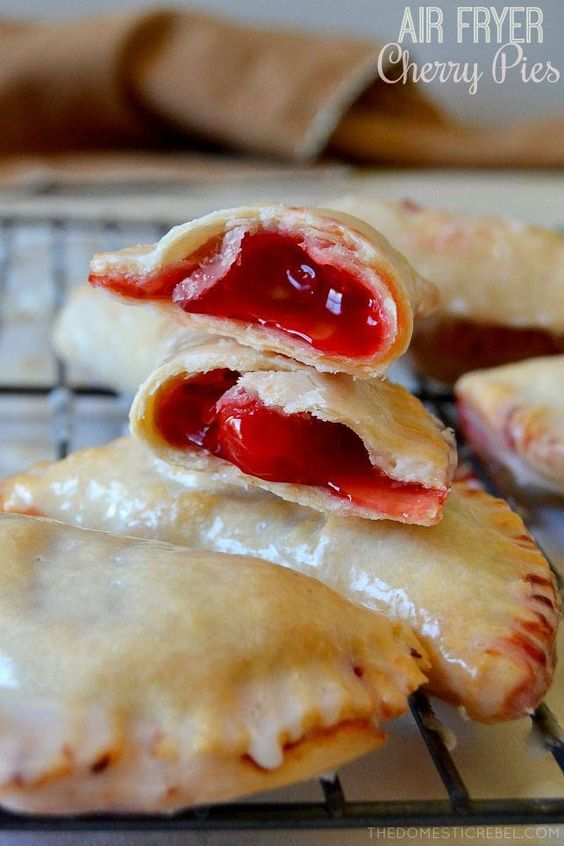 Air Fryer Cherry Hand Pies