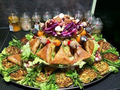 سلطة روايال عراضة مغربية فخمة من ايادي اروع اليوتوبرز المغربيات Youtube Health Dinner Recipes Buffet Food Presentation Buffet Food