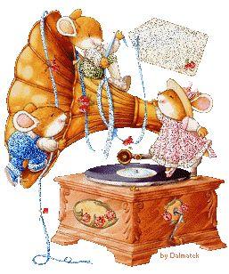 Les souris et le phonographe...