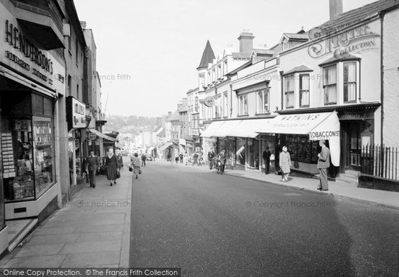 Chepstow, High Street 1957, from Francis Frith