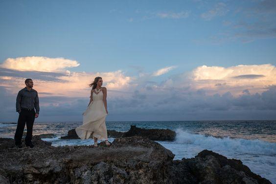 Summer Beachside Post-Wedding Session - Belle The Magazine