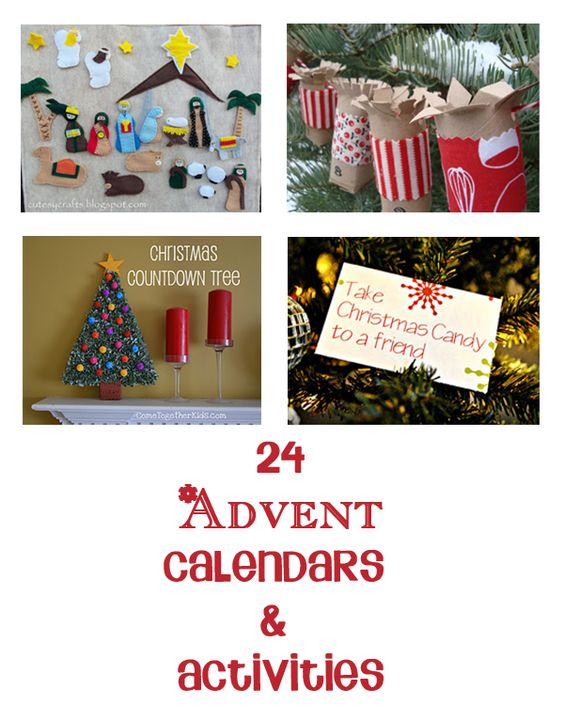 Advent Calendar Ideas Inside : Advent activities and calendar for kids on pinterest
