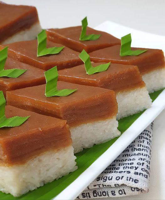 Resep Kue Talam Ketan : resep, talam, ketan, Talam, Ketan, Sarikaya, @ayuaudrey91, Asian, Desserts,, Recipes,